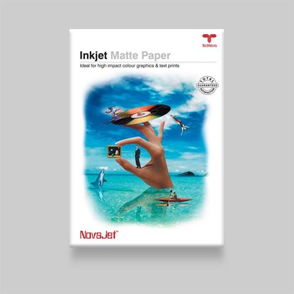 "Picture of <p>NovaJet<span style=""font-family: arial, helvetica, sans-serif;"">&trade;</span> Matte Coated Paper 120</p>"