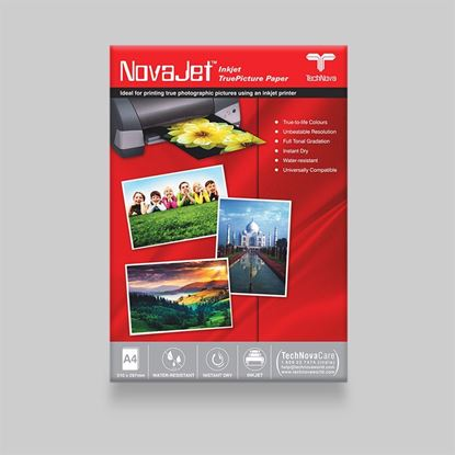 "Picture of <p>NovaJet<span style=""font-family: arial, helvetica, sans-serif;"">&trade;</span> Photo Gloss Paper 180 WR -&nbsp;w/o WM</p>"