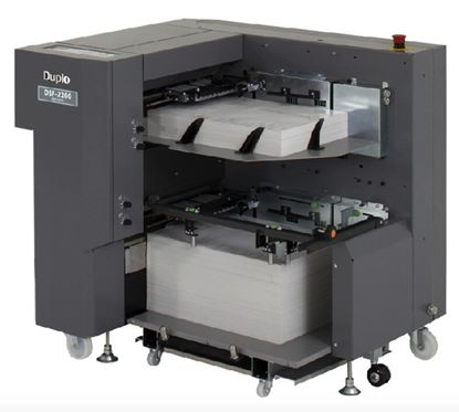 "Picture of <p><span style=""font-family: arial, helvetica, sans-serif;""><strong><span style=""font-size: 12pt;"">Duplo DSF-2200 Sheet Feeder</span></strong></span></p>"