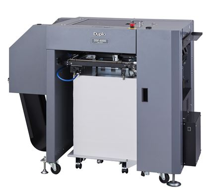"Picture of <p><span style=""font-size: 12pt;""><strong><span style=""font-family: arial, helvetica, sans-serif;"">Duplo DSF-6000 Sheet Feeder</span></strong></span></p>"