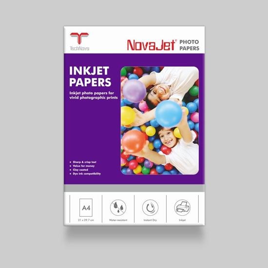 Picture of NovaJet Photo Gloss Paper 170 WR - w/o WM